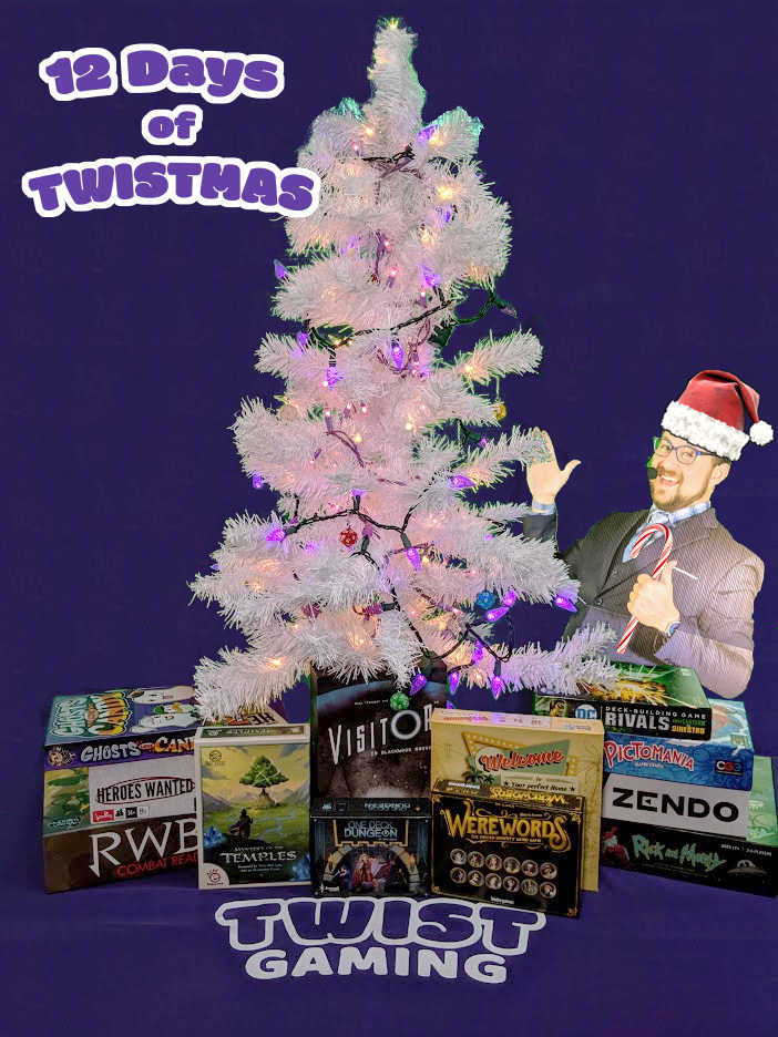Board Game Giveaway - 12 Days of Twistmas